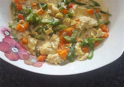 Resep tumis sawi putih telur orak arik bahan : Resep Orak arik telur buntel(buncis-wortel) By Ochie Purple~ bianca and meinweg