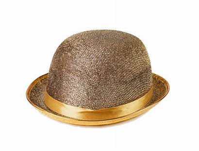 Hat Clipart Background Transparent Fashionable Isolated Golden