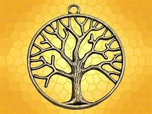 Tatouage Symbole Vie : pendentif bronze arbre de vie rond bijou celtique symbole celte anticae ~ Melissatoandfro.com Idées de Décoration