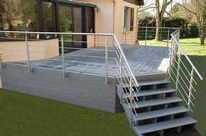 amenager terrasse a avranches coutances cherbourg fh With photos terrasse bois composite