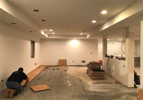 Basement Subfloor Options Dricore Versus Plywood Home