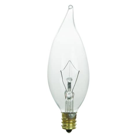 sunlite 013 candelabra base e12 incandescent bulb