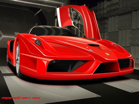 Ferrari Enzo Fxx By W25 On Deviantart