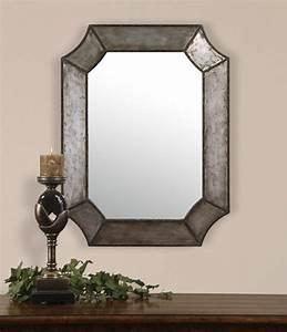 Miroir De Salon : miroir d co style industriel miroir d coration ~ Teatrodelosmanantiales.com Idées de Décoration