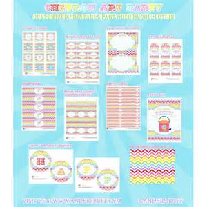 chevron arts and crafts printables collection