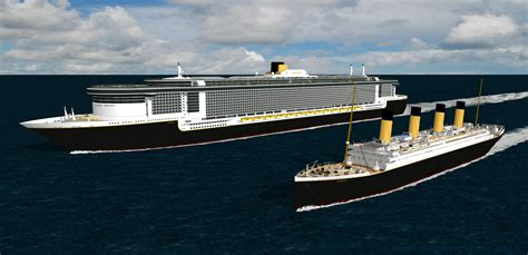 Titanic Vs New Boat by The New Titanic Cruise Ship Fitbudha