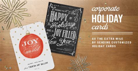 You can customize company holiday cards with images and text on the card cover and interior. Corporate Christmas Cards, Christmas Cards for Business   Simply to Impress
