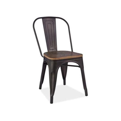 chaise industrielle pas cher chaise metal loft achat vente chaise metal loft pas