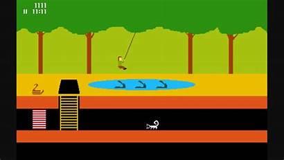 Atari 2600 Pitfall Games Activision Avoid Annihilation