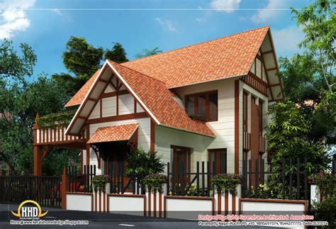 6 awesome homes plans indian home decor - European Style House