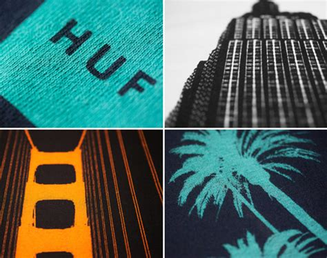 huf city  shirt series freshness mag