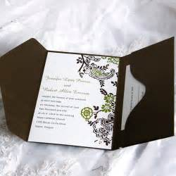 wedding invitations with pictures soft floral frame pocket wedding invitation ukps041 ukps041 0 00 cheap wedding