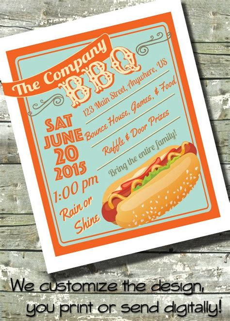 summer bbq church  community event  invite