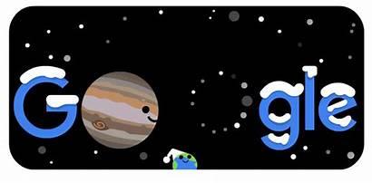 Conjunction Winter Northern Hemisphere Doodles Celebrating Google