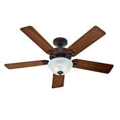 hunter ridgefield five minute fan hunter 44 in ridgefield five minute white ceiling fan with