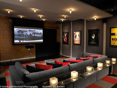 home theatre interior design hillcrest loft modern home theater san diego