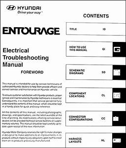 Hyundai Entourage Wiring Diagram