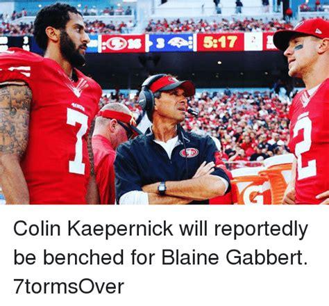 Blaine Gabbert Meme - ceo colin kaepernick will reportedly be benched for blaine gabbert 7tormsover blaine gabbert