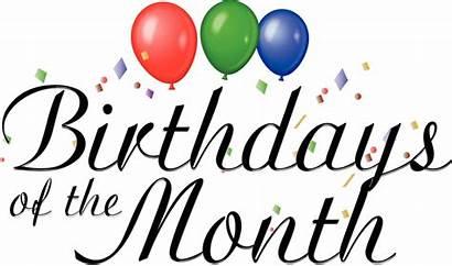 Birthday Happy Month Birthdays Words Rose Clip
