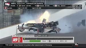 Accident Bourdais Indianapolis : bourdais massive accident in qualifying indianapolis 2017 youtube ~ Maxctalentgroup.com Avis de Voitures
