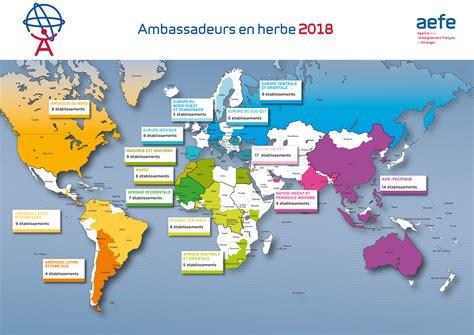 Carte Coupe Du Monde 2018 by Aefe Ambassadeurs En Herbe 2017 2018 115 233 Tablissements