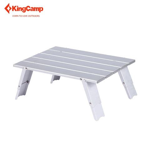 aluminum portable folding table kingc portable cing table for picnic outdoor party