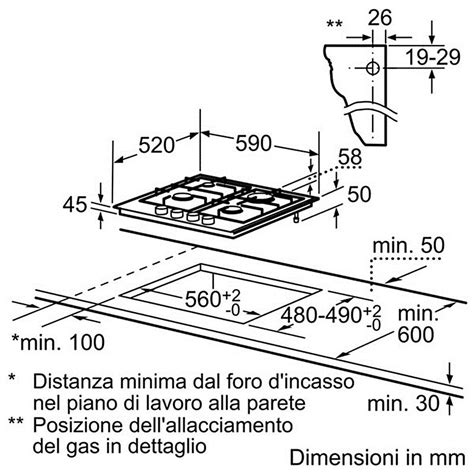 piani di cottura bosch ppp 616b11e bosch piano cottura da 60 cm 4 fuochi a gas in