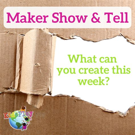 tell maker pm kidsplay challenge event children week eastern virtual museum april through resources moving child