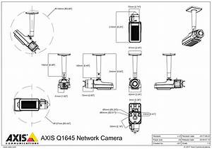 Axis Q1645 Network Camera With I