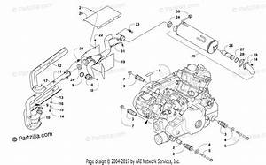 Arctic Cat Side By Side 2016 Oem Parts Diagram For Engine