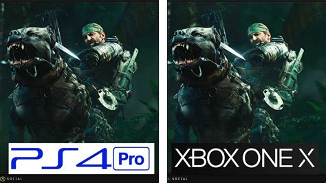 call  duty black ops  ps pro     graphics
