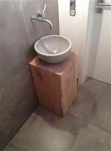 Handwaschbecken Gäste Wc : beton waschbecken g ste wc bathroom inspirations ~ Michelbontemps.com Haus und Dekorationen