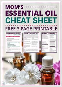 Mom U0026 39 S Essential Oil Cheat Sheet