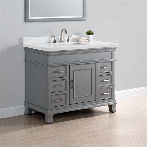charleston  single sink vanity mission hills furniture