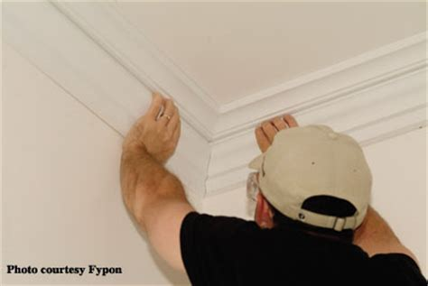 cut  install crown molding  trim extreme