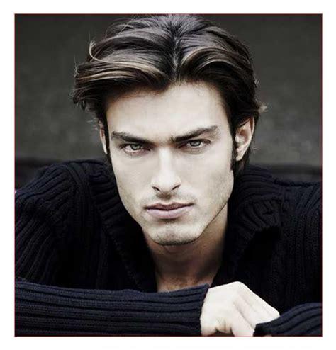 mid length hairstyle men fade haircut