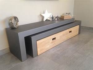 Mobilier Bois Design : mobilier design acier lyon mobilier m tal villefranche calade design ~ Melissatoandfro.com Idées de Décoration