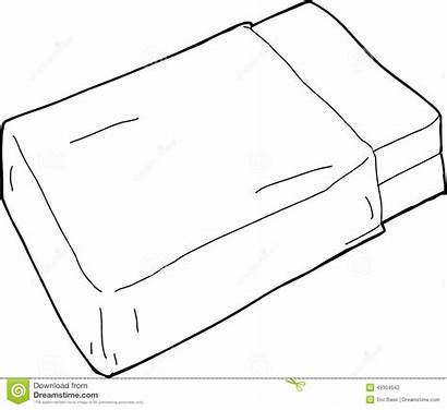 Blanket Mattress Bed Single Drawn Coloring Template