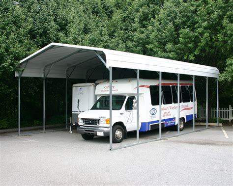 Rv Carport by Albany Ny Carports Albany New York Metal Carports