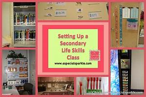 A Special Sparkle: Setting Up a Secondary Life Skills Class