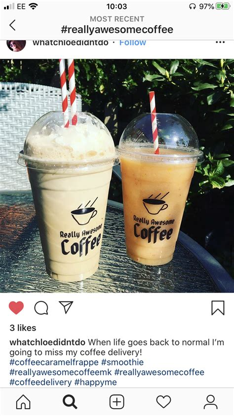 Looking for food delivery near me open now? Home Delivery | Really Awesome Coffee