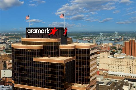The top of the Aramark HQ Tow... - Aramark Office Photo ...