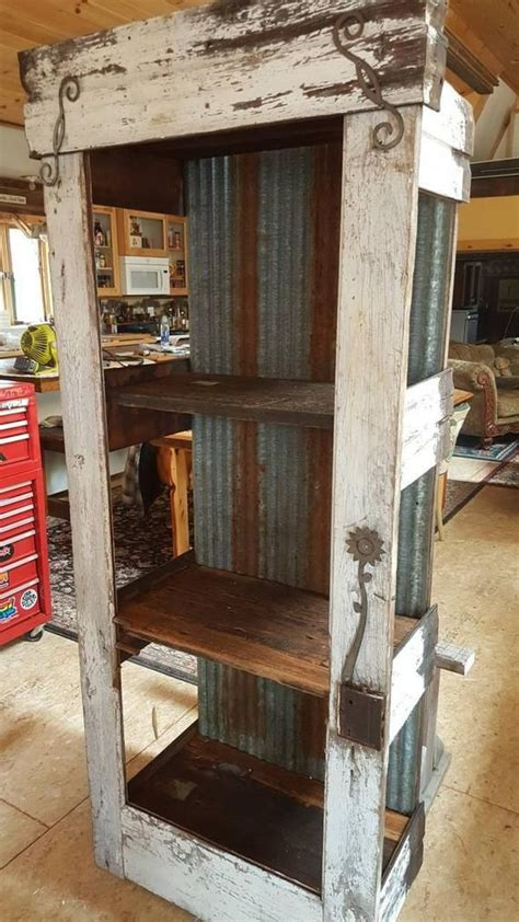 custom  reclaimed barn wood door rustic distressed