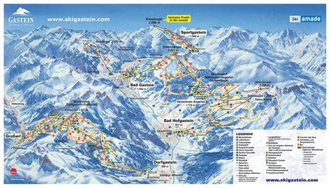 bergfex pistenplan dorfgastein ski amade