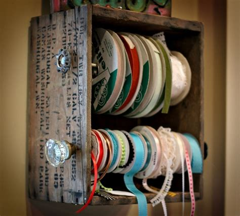 ribbon holder diy craft ideas pinterest