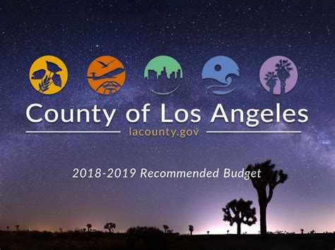 2021-2022 Los Angeles County Budget – COUNTY OF LOS ANGELES