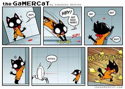 Gamercat Comics Cat Gamer Target Acquired Gifs