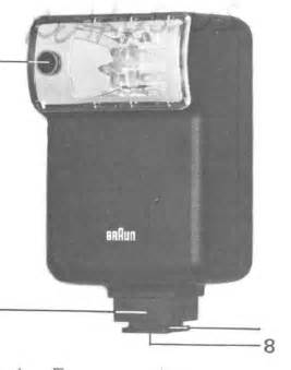 Braun / Leitz flash units instruction manual, Braun F80