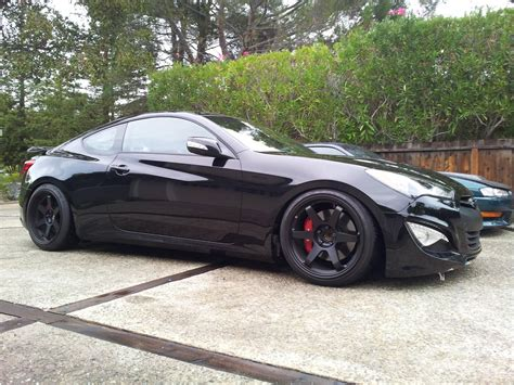 Hyundai Genesis Coupe Coilovers by St Coilovers On 13 Track Genesis Forum Gencoupe