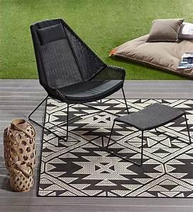 outdoor teppiche fur balkon und garten schoner wohnen With balkon teppich mit tapeten barbara becker kollektion